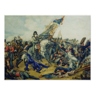 The Battle of Waterloo in 1815, 1831 Poster
