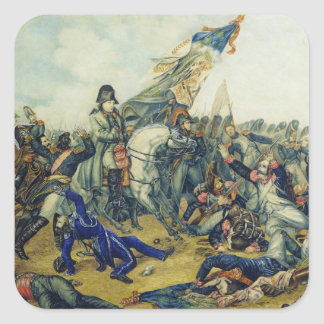 The Battle of Waterloo in 1815, 1831 Square Sticker