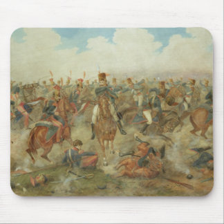 The Battle of Waterloo, June 18th 1815 (w/c on pap Mouse Pad
