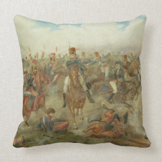 The Battle of Waterloo, June 18th 1815 (w/c on pap Pillows