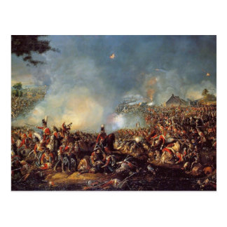 The Battle of Waterloo Postcard
