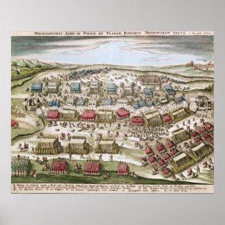 The Battle of White Mountain , 8th November 1620 Poster