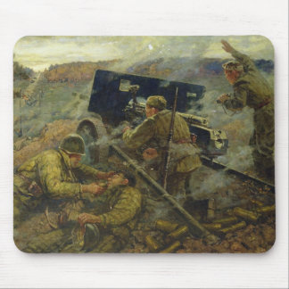 The Battle of Yelnya near Moscow in 1941 Mouse Pad