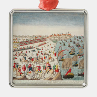 The Battle of Yorktown, 19th October 1781 Metal Ornament