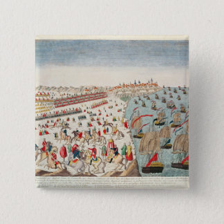 The Battle of Yorktown, 19th October 1781 Pinback Button