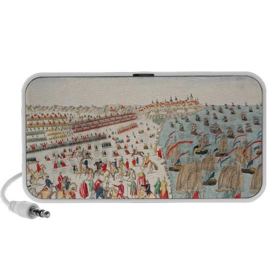 The Battle of Yorktown, 19th October 1781 Portable Speaker