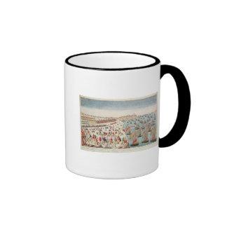 The Battle of Yorktown, 19th October 1781 Ringer Mug