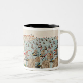 The Battle of Yorktown, 19th October 1781 Two-Tone Coffee Mug