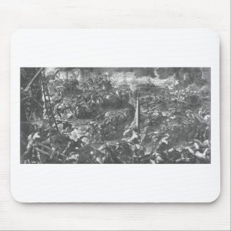 The Battle of Zara by Tintoretto Mouse Pad