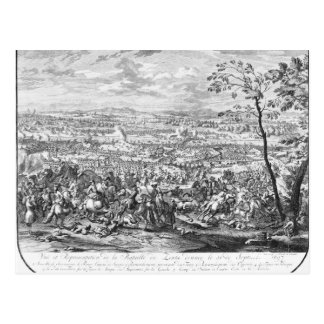 The Battle of Zenta, 1697 Postcard