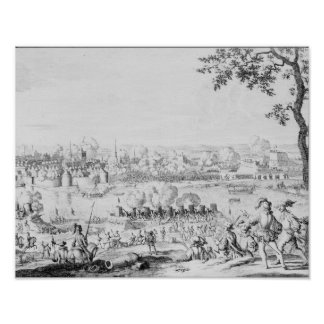 The Battle of Zutphen, 22nd September 1586 Poster