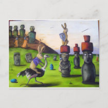 The_Battle_over_Easter_Island[1] Holiday Postcard