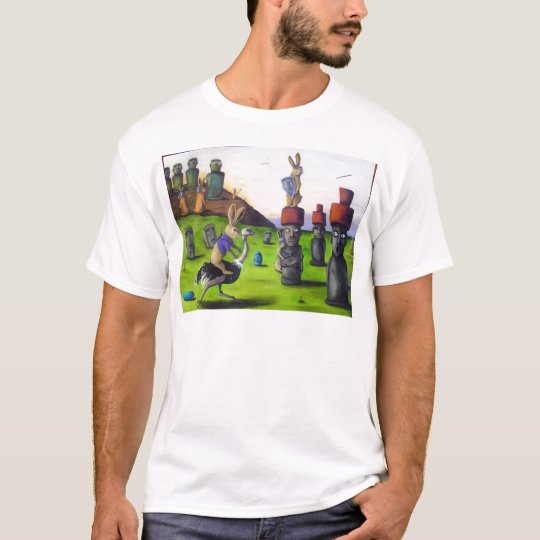 The_Battle_over_Easter_Island[1] T-Shirt