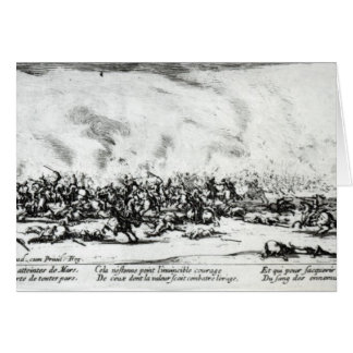 The Battle, plate 3 from 'The Miseries Greeting Cards
