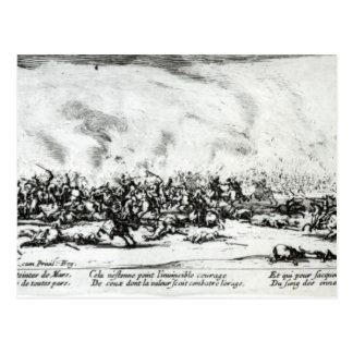 The Battle, plate 3 from 'The Miseries Postcards