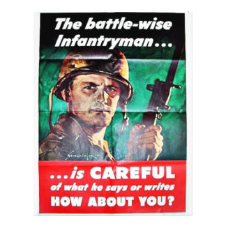 The Battle Wise Infantry Man Flyer