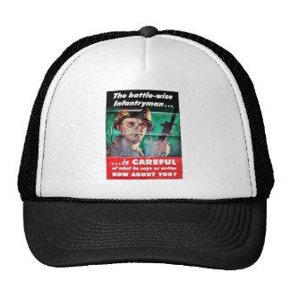 The Battle Wise Infantry Man Trucker Hat