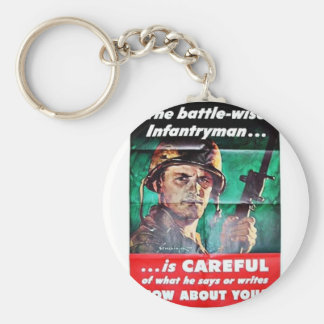 The Battle Wise Infantry Man Key Chain