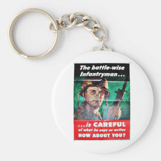 The Battle Wise Infantry Man Key Chains