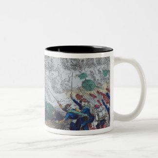 The Battles of Champigny and Two-Tone Coffee Mug