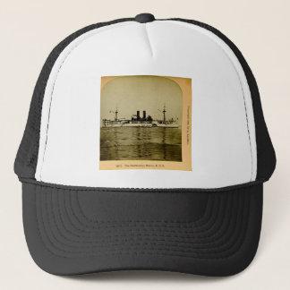 The Battleship Maine U.S. Vintage Stereoview Trucker Hat