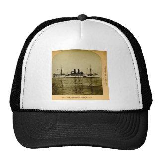 The Battleship Maine Vintage Stereoview Trucker Hat