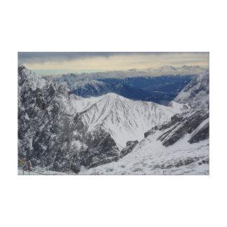 The Bavarian Alps Canvas Print