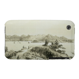 The Bay and Island of Hong Kong, plate 4 from 'Ske iPhone 3 Cover