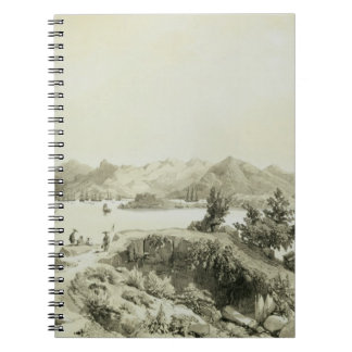 The Bay and Island of Hong Kong, plate 4 from 'Ske Notebook