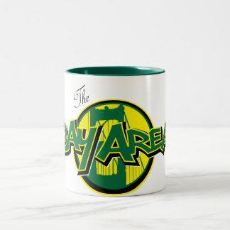 The Bay Area Mug Green & Yellow