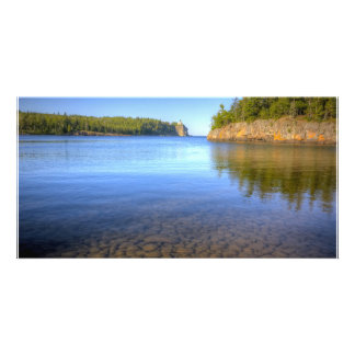 The Bay Around Split Rock Lighthouse Picture Card
