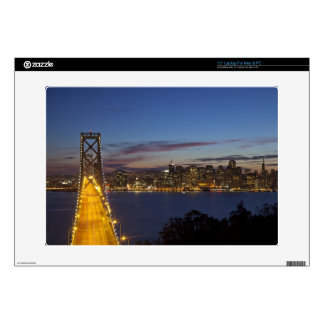 The Bay Bridge from Treasure Island 2 Decal For Laptop