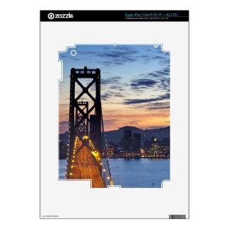 The Bay Bridge from Treasure Island iPad 3 Decal