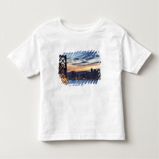 The Bay Bridge from Treasure Island Toddler T-shirt