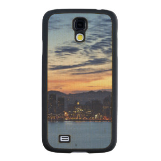 The Bay Bridge from Treasure Island Carved® Maple Galaxy S4 Slim Case