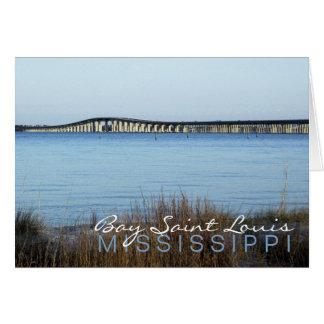 """The Bay Bridge"" Greeting Card"