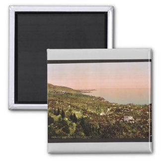 The bay, Gardone, Garda, Lake of, Italy vintage Ph Refrigerator Magnets