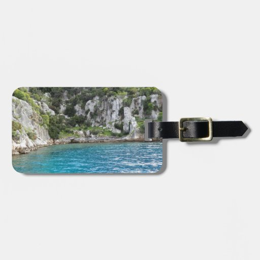 the bay luggage tag