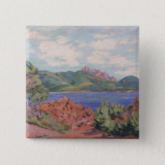 The Bay of Agay, c.1905 (oil on canvas) Button