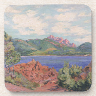 The Bay of Agay, c.1905 (oil on canvas) Coaster