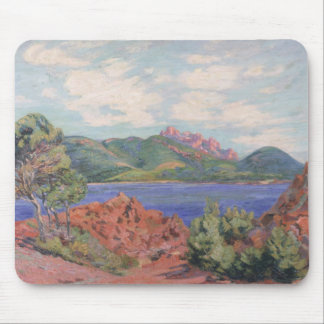 The Bay of Agay, c.1905 (oil on canvas) Mouse Pad