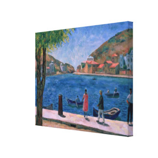 The Bay of Balaklava, 1927 Gallery Wrap Canvas