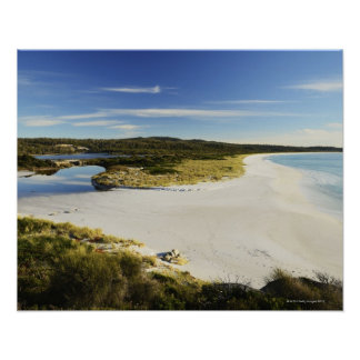 The Bay of Fires on Tasmania's East Coast Poster