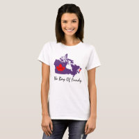 The Bay of Fundy Nova Scotia love canada pin it T-Shirt