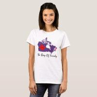The Bay of Fundy Nova Scotia love canada pin it T-Shirt