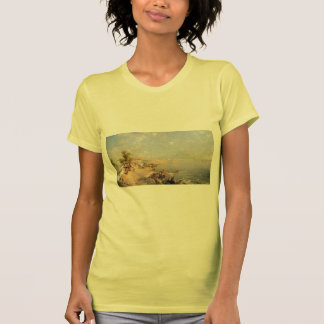 The Bay of Naples by Franz Richard Unterberger Tshirt