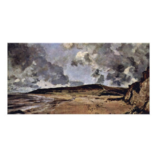 The Bay Of Weymouth By Constable John (Best Qualit Photo Cards