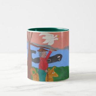 the Bay Watcher coffee mug
