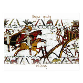 The Bayeux Tapestry a6 Postcard