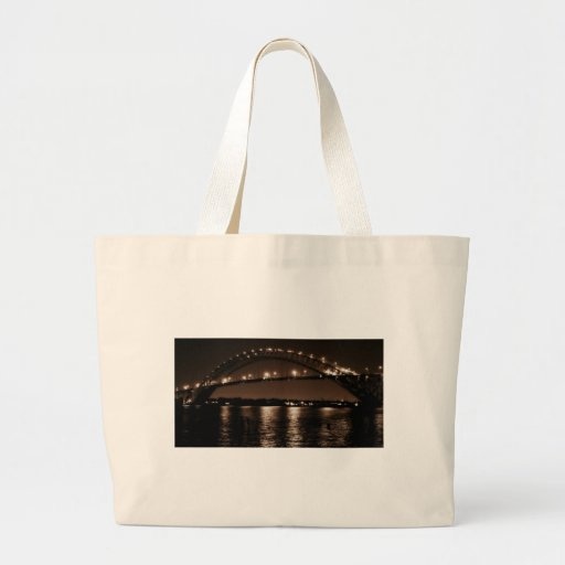 The Bayonne Bridge Canvas Bag